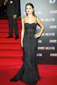 Selena Gomez Spring Breakers premiere in Madrid 2/21/13