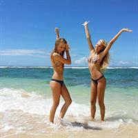 Isabell Klem in a bikini