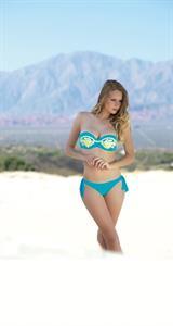 Julia Rohden in a bikini