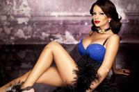 Adina Barbu in lingerie