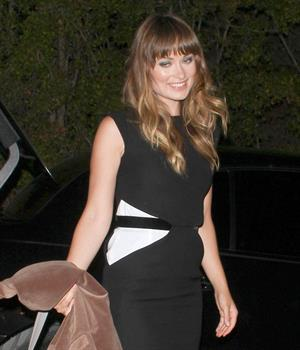Olivia Wilde outside Dominik's Italian Restaurant in West Hollywood on June 6, 2011