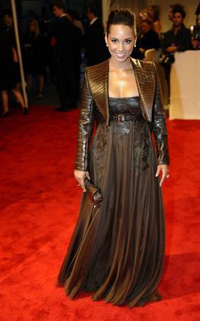Alicia Keys Metropolitan Museum of Art Costume Institute Benefit on May 2, 2011