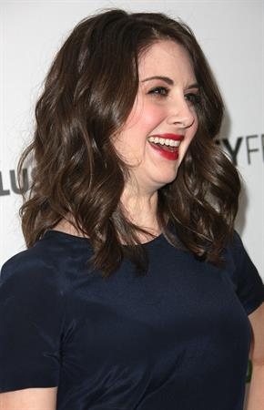 Alison Brie Paleyfest presentation of Community at Saban Theatre on March 3, 2012