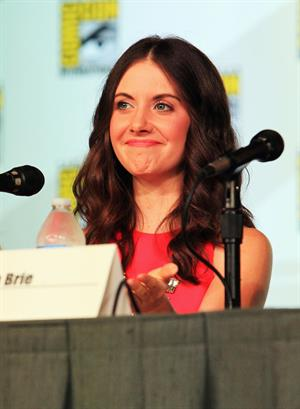 Alison Brie community panel at San Diego Comic Con on July 13, 2012