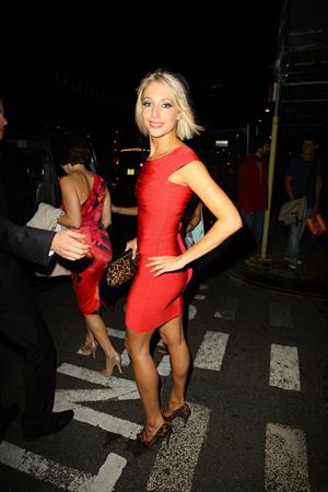 Ali Bastian Burn the Floor press night at the the Shaftesbury Theatre in London on July 27, 2010