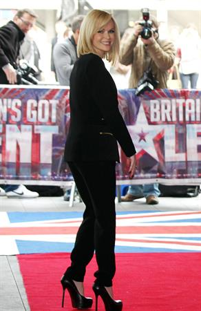 Amanda Holden attends the Britain's Got Talent Launch Event in London on March 22, 2012