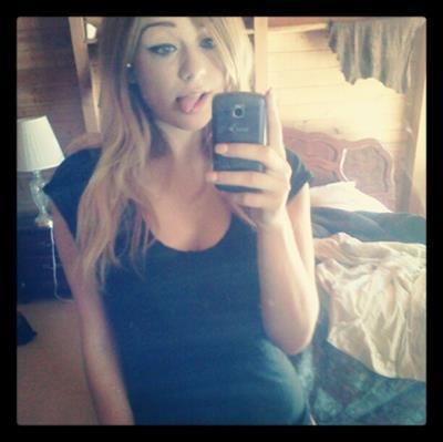 Alaina Fox taking a selfie
