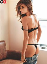 Miranda Kerr in lingerie - ass