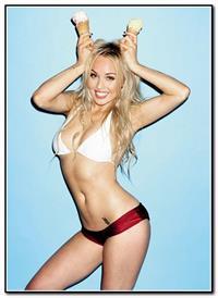 Jorgie Porter in a bikini