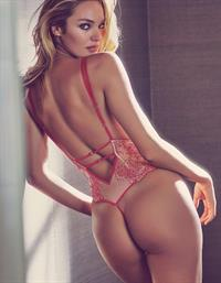 Candice Swanepoel in lingerie - ass