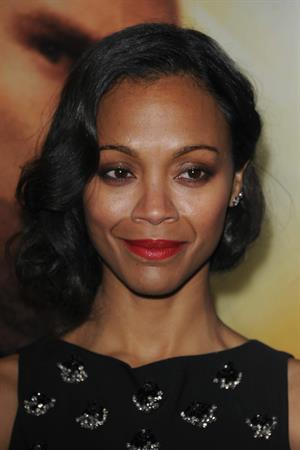 Zoe Saldana attends the 'Star Trek Into Darkness' UK Premiere at the Empire Leicester Square in London