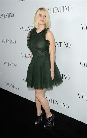 Alice Eve at the Valentino 50th Anniversary Kick Off Party and unveiling of their new Beverly Hills Flagship Store, Valentino, Beverly Hills, CA on March 27, 2012