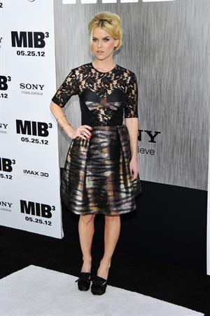 Alice Eve Men in Black 3 Premiere in New York on May 23, 2012