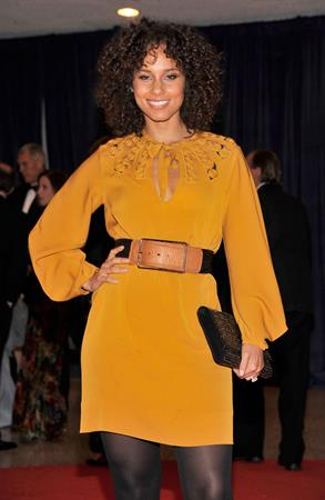 Alicia Keys 2012 attends White House Correspondents Dinner on April 28, 2012