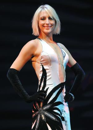 Ali Bastian Burn the Floor on July 23, 2010