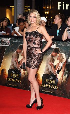 Ali Bastian Water for Elephants Premiere on May 3, 2011