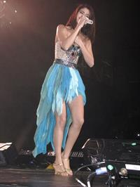 Selena Gomez performing in Copps Colisium in Ontario on October 29, 2011