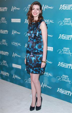 Anne Hathaway Varietys 2nd Annual Power of Women Luncheon on September 30, 2010