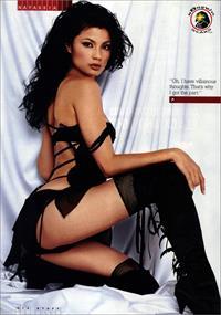 Natassia Malthe in lingerie - ass