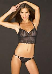 Anahi Gonzales in lingerie