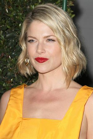 Ali Larter attending the 5th annual Hollywood Domino Gala Tournament in Los Angeles on February 23, 2012