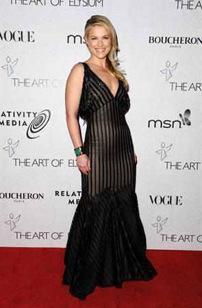 Ali Larter attending the 3rd annual Art of Elysium Heaven Gala  on January 16, 2010