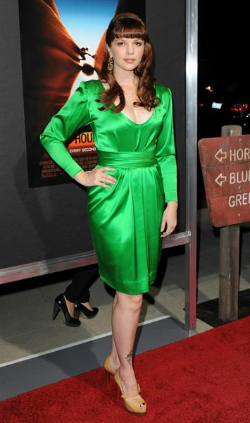 Amber Tamblyn 127 hours premiere in Beverly Hills California on November 3, 2010