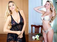 Micaela Breque in lingerie