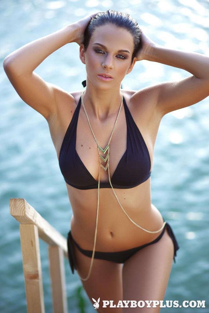 Playboy Cybergirl Sophie Hébert Nude Photos & Videos at Playboy Plus!