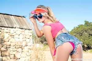 Playboy Cybergirl - Sarah Louise Harris Nude Photos & Videos at Playboy Plus!