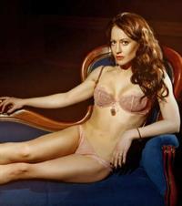 Ekaterina Galkina in lingerie