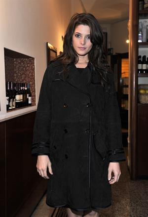 Ashley Greene Milan fashion week Autumn/Winter 2010 show in February 2010