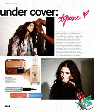 Ashley Greene Nylon Magazine August 2012