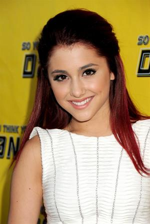 Ariana Grande Fox's  So You Think You Can Dance   Season 7 viewing party on May 27, 2010