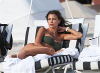 Claudia Galanti in a bikini