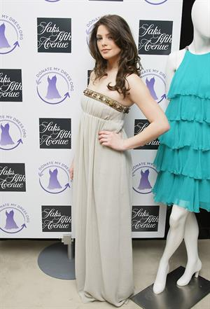Ashley Greene donatemydress.org prom dress drive