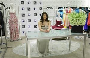 Ashley Greene donatemydress.org prom dress drive