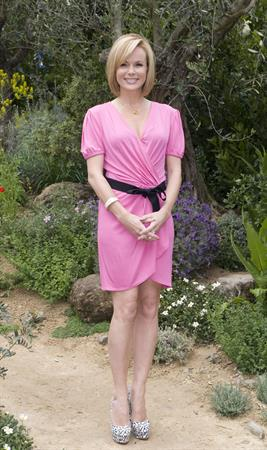 Amanda Holden on the Chelsea Glower Show on May 21, 2012
