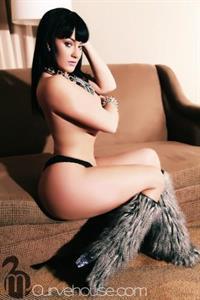 Amber Priddy in lingerie