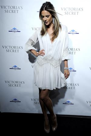 Alessandra Ambrosio opening of the Victoria Secret Lexington avenue flagship store in New York City