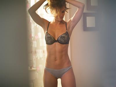 Jessica Rafalowski in lingerie
