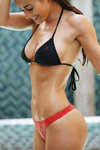Amanda Mae Van Driessche in a bikini