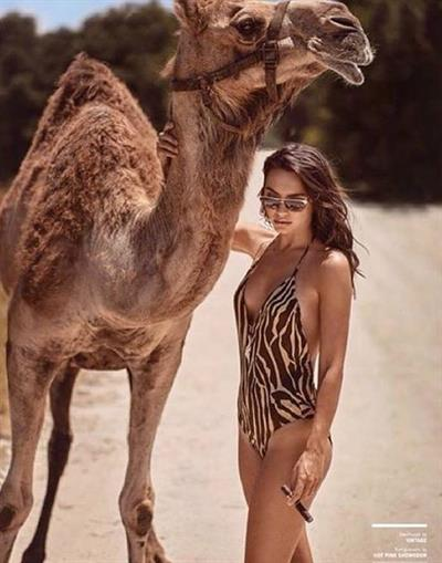 Gia Radionova in a bikini