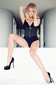 Sophie Reade in lingerie