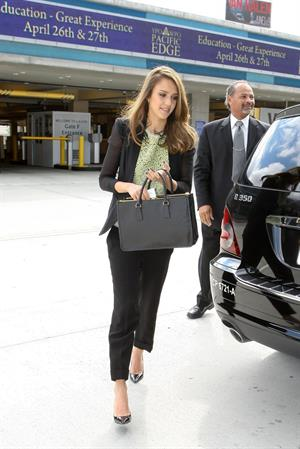 Jessica Alba in Los Angeles on April 26, 2012
