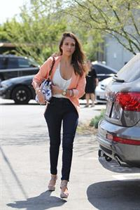 Jessica Alba in Culver City on August 2, 2012