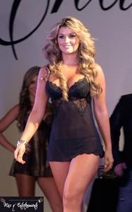 Ana Maria Córdoba in lingerie