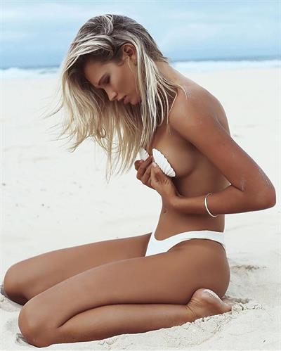 Nancy Madden in a bikini