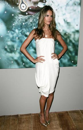 Alessandra Ambrosio Russell James Portrait book release party in New York City
