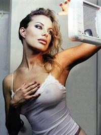 Xenia Seeberg in lingerie - breasts